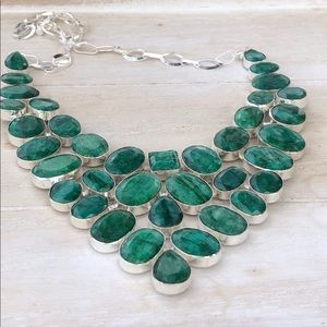 NEW! Emerald Necklace